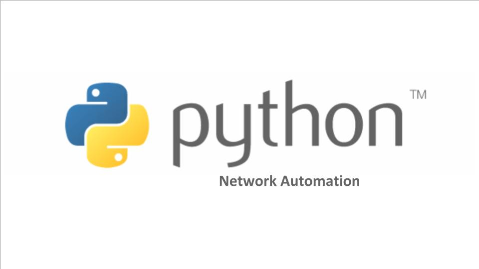 Network Automation Python